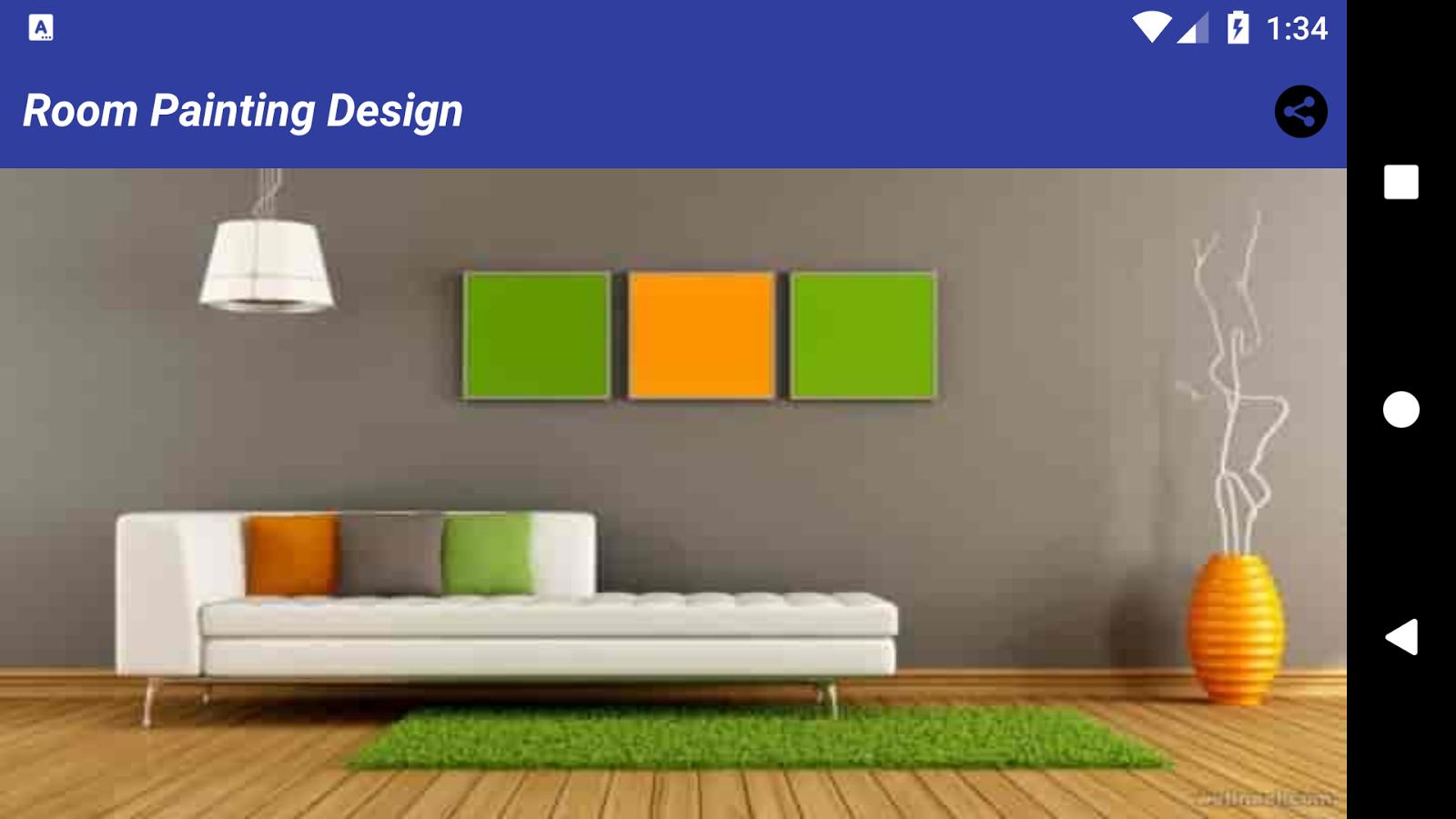 Interior design home painting - Room Painting Ideas Room Design Screenshot
