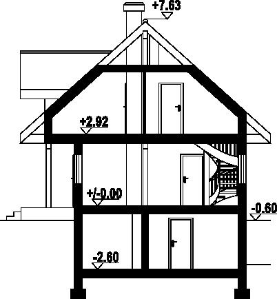 Świdnica mała 9 dws - Przekrój