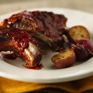 Slow-Cooker Barbecued Baby Back Ribs.