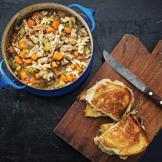 Pork Chop Noodle Soup.