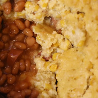 Crock Pot Corn Dog Casserole
