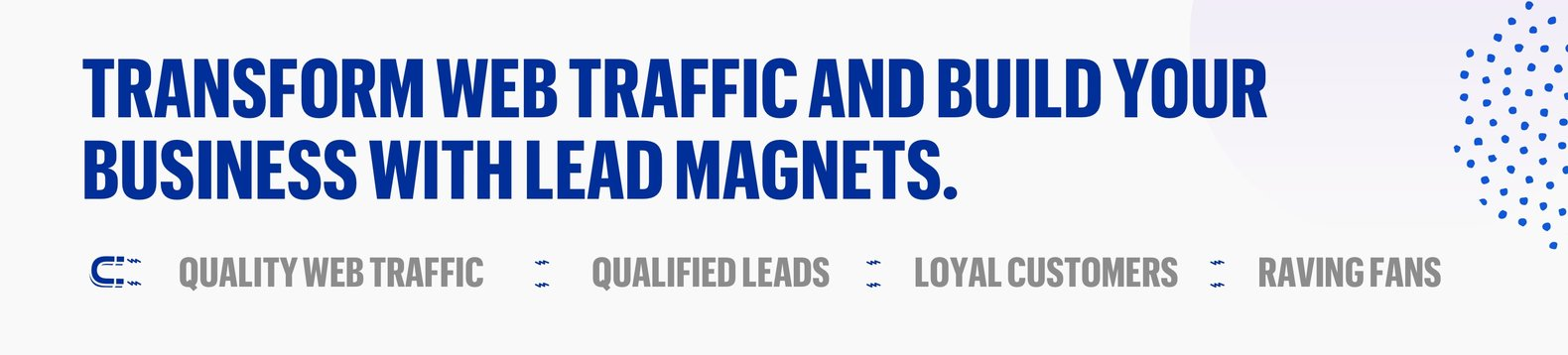 lead magnet lead generation lead pages