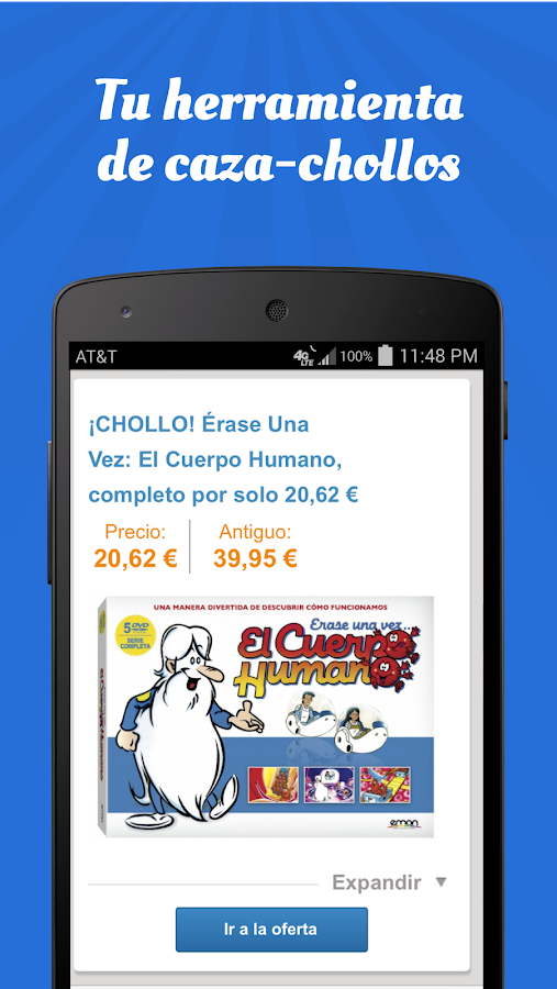 Chollos- screenshot