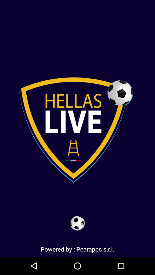 Hellas Live- screenshot