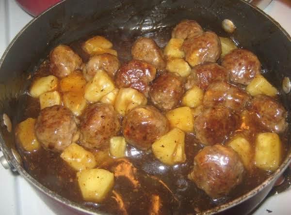 Hawaiian Meatballs Recipe