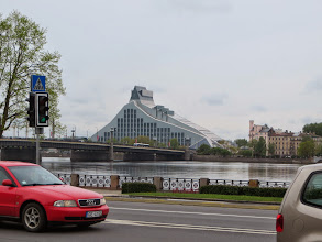 Photo: The Castle of Light - Riga's new library. It's not yet opened