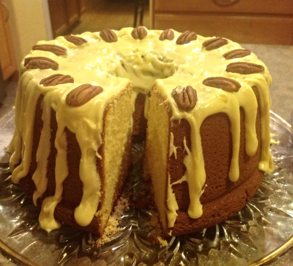 Egg Nog Supreme Pound Cake Recipe
