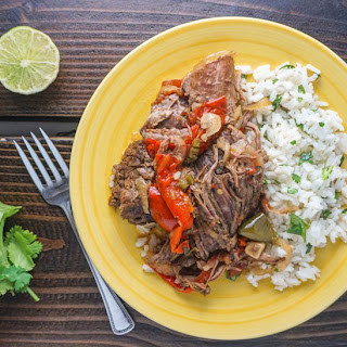 Sunday Slow Cooker: Spicy Braised Beef.
