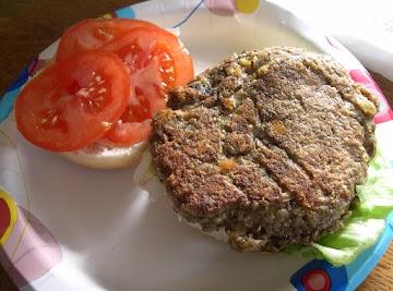 Mushroom Burgers Vegetarian Recipe