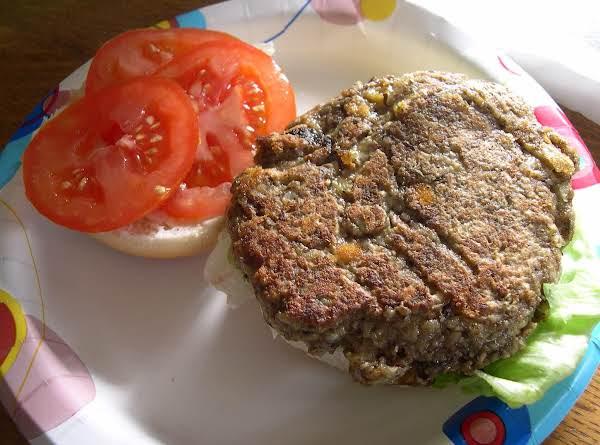Mushroom Burgers Vegetarian
