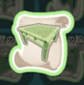 竹のテーブルの設計図