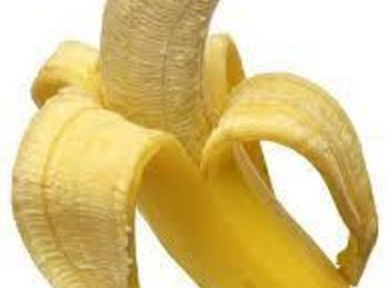 """Next; your fruit. I like to use Banana's. But any other kind of """"non-juicey""""..."""