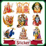 All God Stickers Guru Purnima Hindu Godnes Sticker