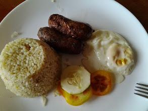 Photo: Last breakfast in Nueva Vizcaya: their delicious and unique Longganisa!