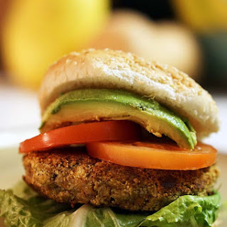 Nut Burger #Vegan #MeatlessMonday