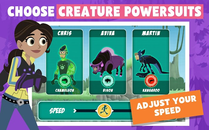 Wild Kratts Rescue Run Android 2