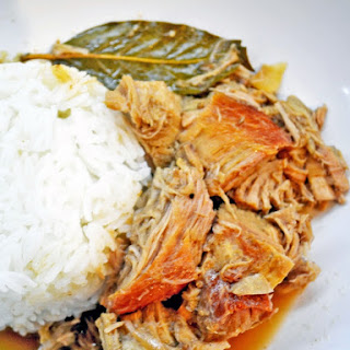Lechon Paksiw aka Roast Pork Stewed in Sweet Sauce
