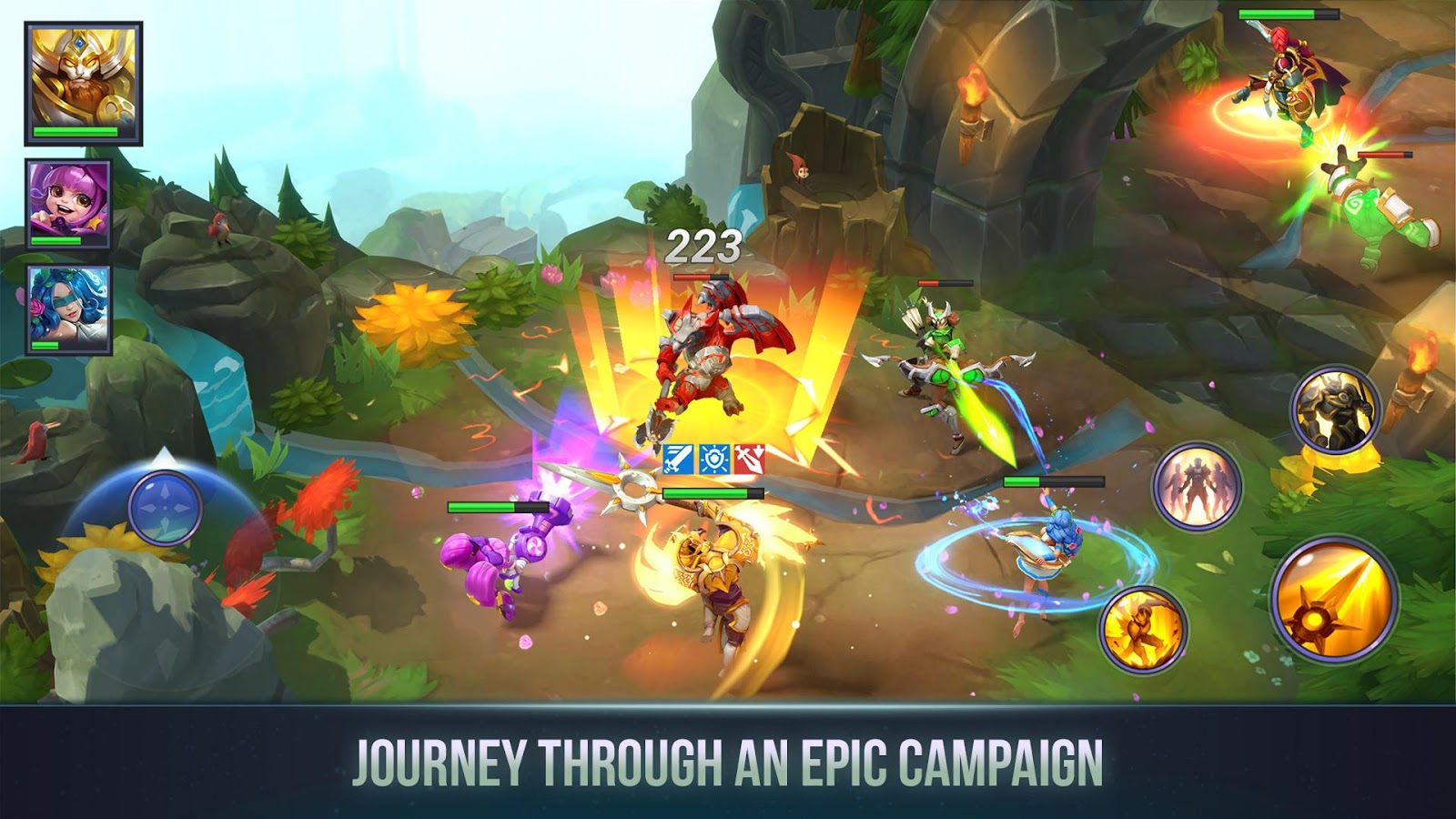 Dungeon Hunter Champions: Epic Online Action RPG (Unreleased) – zrzut ekranu