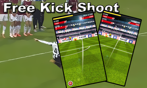 free kick shoot