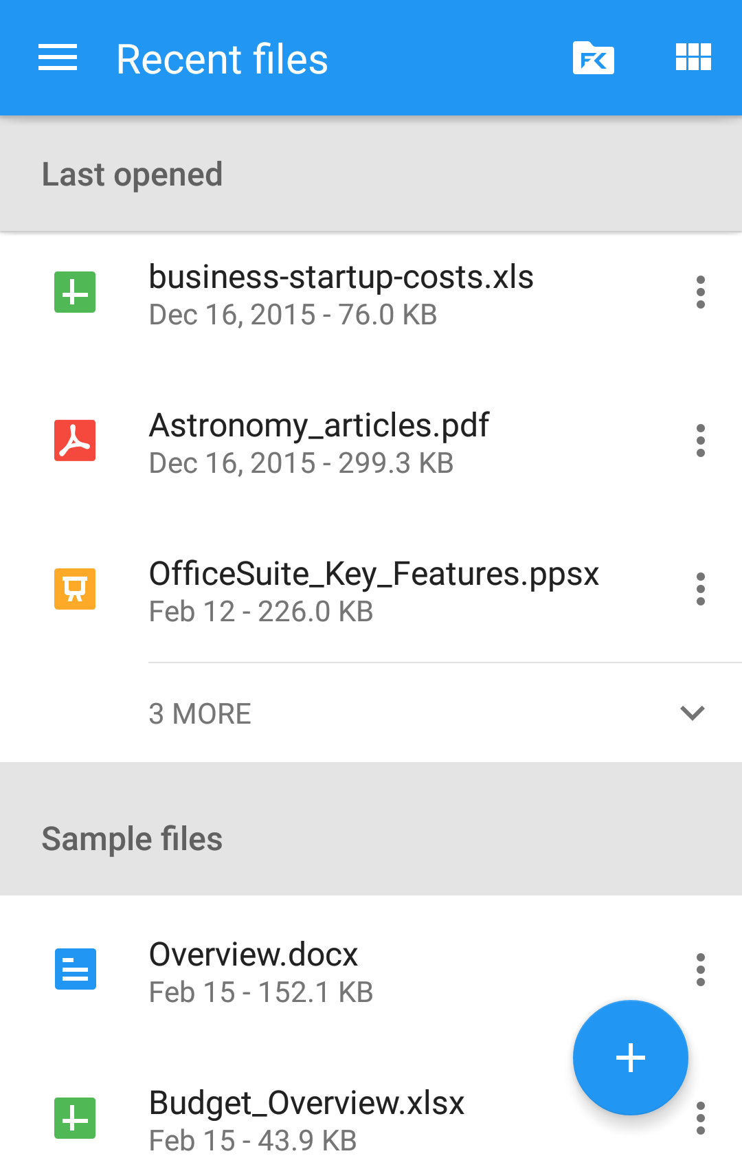 OfficeSuite Pro + PDF screenshot #3
