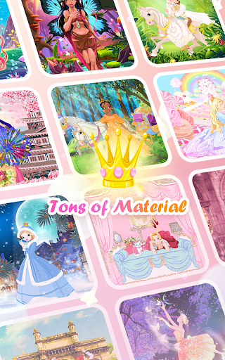 Princess Coloring Book: Special Color by Number screenshots 9