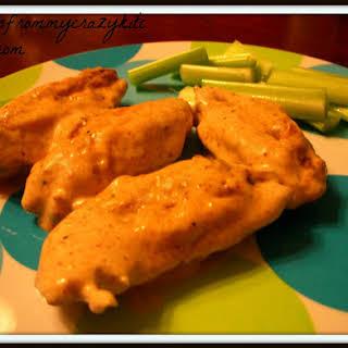 Cajun Ranch Chicken Wings.