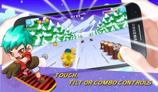 3D Ski Racing-Super Jumper Run