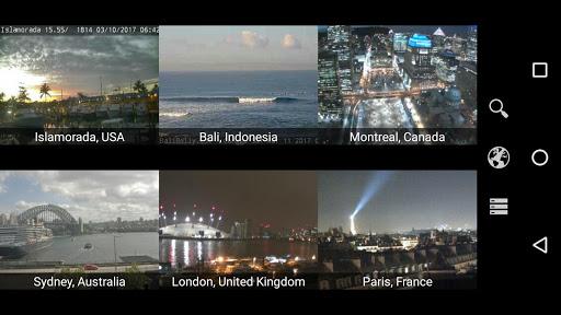 Earth Online: Live World Webcams & Cameras 1.5.5 screenshots 1