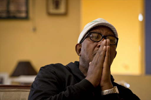 South African musician Sipho 'Hotstix' Mabuse.