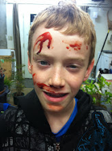 Photo: The Deputy Chief's son helped as a victim.