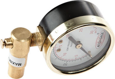 Meiser 30psi Presta-Valve Dial Gauge with Pressure Relief alternate image 0