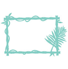 Kaisercraft Decorative Die - Bamboo Frame