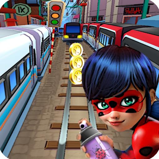 Subway Ladybug Surf Adventure