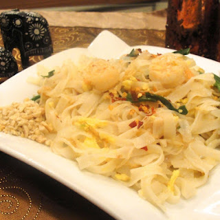 Phad Thai- Rice Noodles with Shrimps- A Must Have Thai Dish