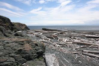 Photo: Bucht beim Rodd Hill Fort