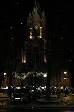 Photo: wagenrust aan de kerk van Heusy