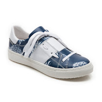 Step2wo Sco Flower - Lace Trainer LACE UP