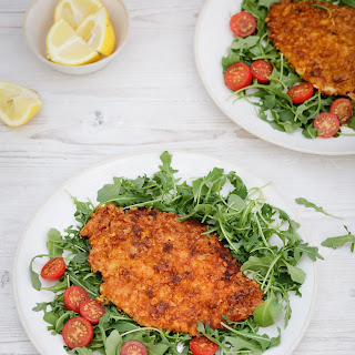 Crunchy Chicken Cutlets.