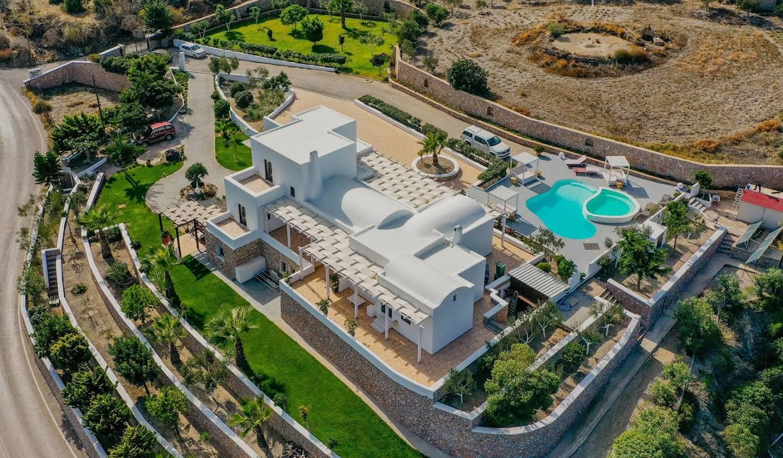 Villa avec piscine Archipel de Santorin