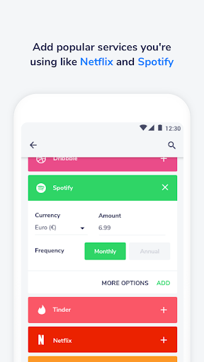 Nate - A Subscription Manager  screenshots 1