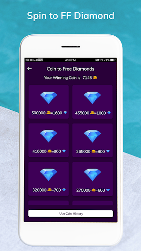 Lucky Spin to FF Diamond - Win Free Diamond 1.6 screenshots 5