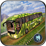 OffRoad US Army Coach Bus Driving Simulator
