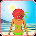 UV Index Forecast Tan Meter icon