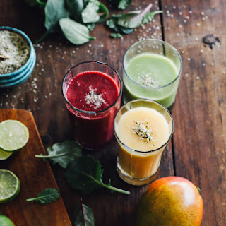 Make-ahead Smoothies.