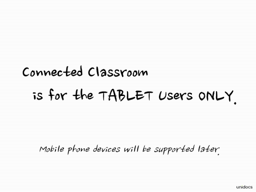 Connected Classroom - Student