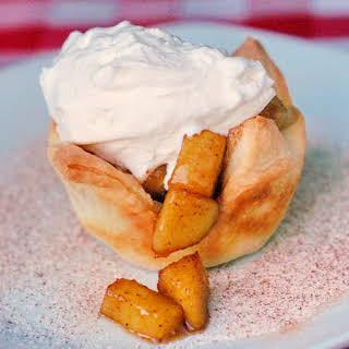 Sautéed Apple Cinnamon Tarts.