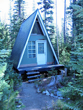 Photo: Our first-night cabin. We moved to a different cabin the second night.