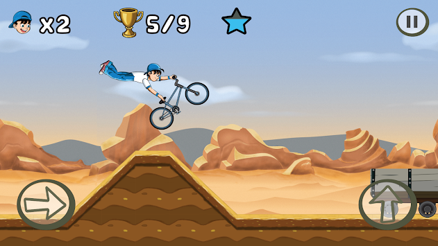 BMX Kid (BMX Boy) apk screenshot