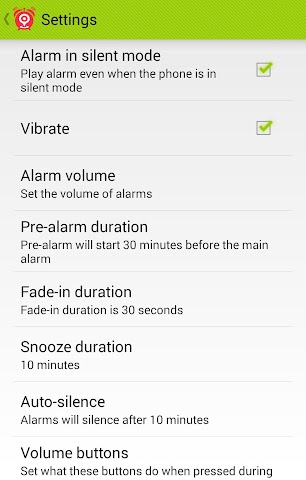 android Clever Alarm Screenshot 5
