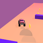 Trush Rush 3D - Running car racing casual game icon